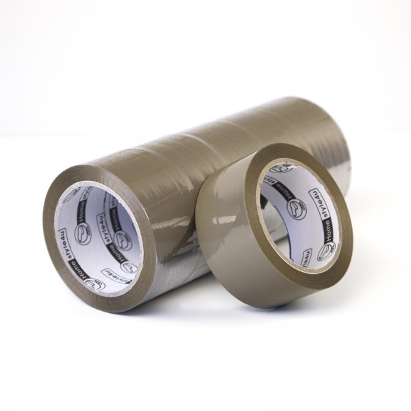 Tape parcel tape tape high-strength quietly 48mmx66m 6 pack brown