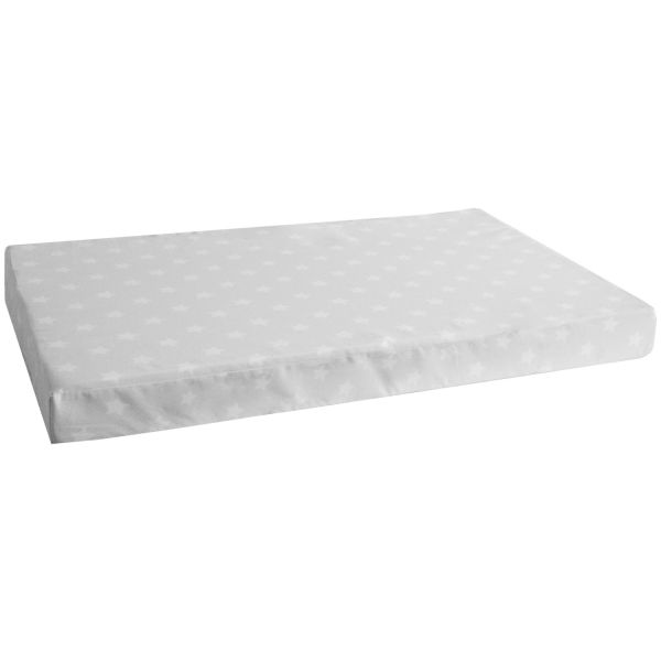 Seat cushion in a set of 2 Seat pad Seat cover cot grey 86x53