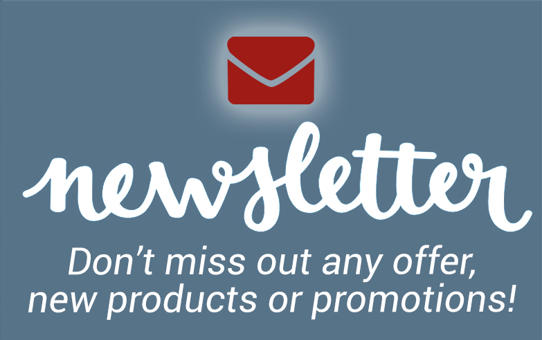 Subscribe to our newsletter now!