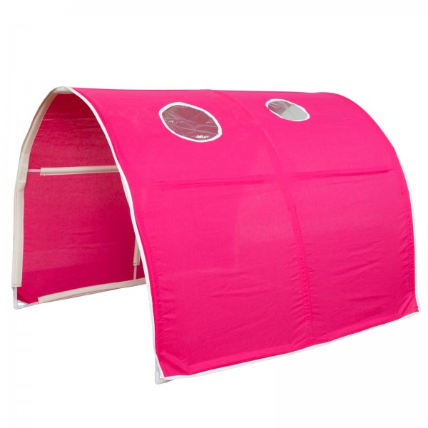 Childrens Bed Tunnel Bed Tent Bunk Bed Cabin Bed accessories pink