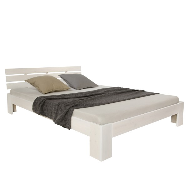 double bed 140x200 Solid pine wooden frame bed