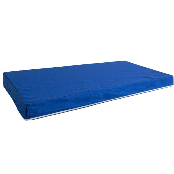 Seat cushion Set of 2 Seat pad Cushion Cushion mat Cot blue 86x53 cm