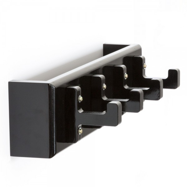 Key board, key box, wall hooks, coat hooks, wardrobe black