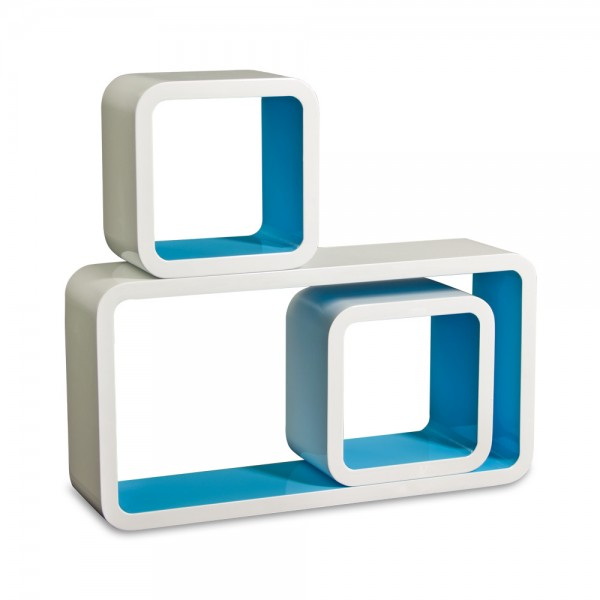 Cube Design Retro Wandregal in