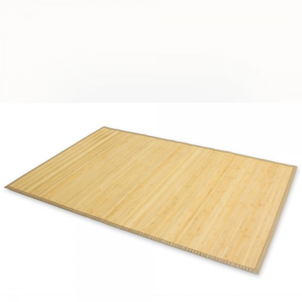 Bamboo carpet Rug 150x200 in light