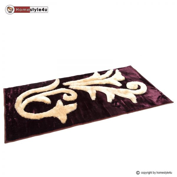 Tapis Shaggy 120 x 180 Purple carpet