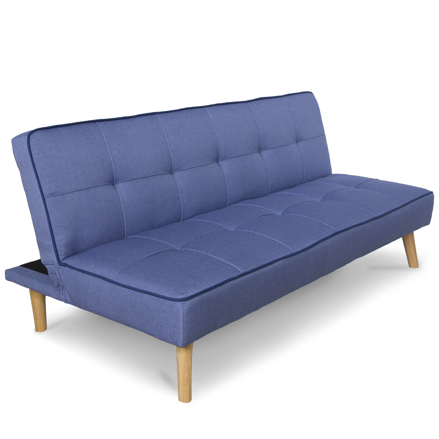 sofa bed sofa bed blue fold-out comfortable