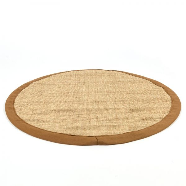 Sisal Rug Brown Carpet 180 cm Round