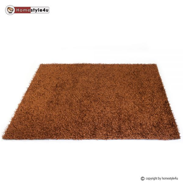 Tapis Shaggy 160 x 230 brun carpet