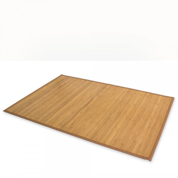 Bamboo carpet Rug 150x200 in brown