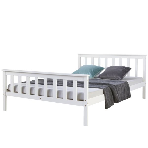 4FT small double bed Shaker Style Daybed white