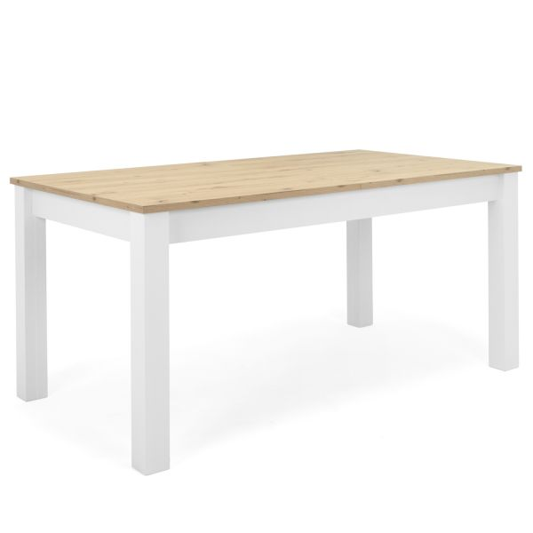Dining table extendable Dining Room Table Kitchen Table Wooden Table White Oak